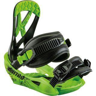 Nitro Ripper 2017, green - Snowboardbindung