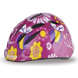 Specialized Small Fry Toddler, Pink Bees - Fahrradhelm