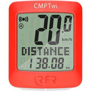 Cube RFR wireless CMPT - Auslauf, red - Fahrradcomputer