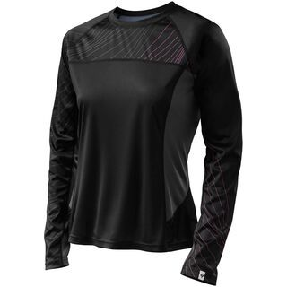 Specialized Women's Andorra Comp Long Sleeve Jersey, black/carbon - Radtrikot