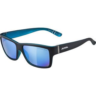 Alpina Kacey, black matt blue/Lens: ceramic mirror blue - Sonnenbrille