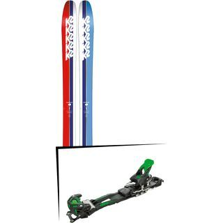 Set: K2 SKI Marksman 2019 + Tyrolia Adrenalin 16 solid black flash green