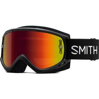 Smith Fuel V.1 inkl. WS, black/Lens: red mir - MX Brille