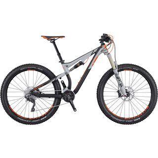 Scott Genius 720 Plus 2016, black/grey/orange - Mountainbike