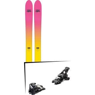 Set: DPS Skis Yvette 112 RP2 Foundation 2018 + Tyrolia Attack² 14 AT solid black