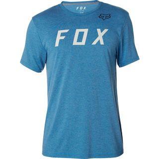 Fox Grizzled SS Tech Tee, blue - Radtrikot