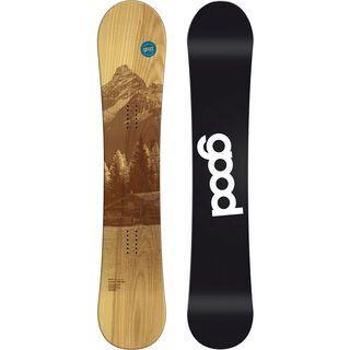 goodboards Wooden Camber 2016, esche blau - Snowboard