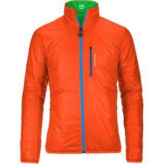 Ortovox Swisswool Light Jacket Piz Boval, absolute green - Thermojacke