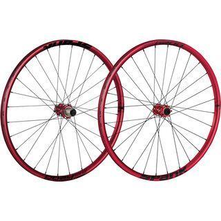 Spank Oozy Trail 295 Wheelset 26, red - Laufradsatz