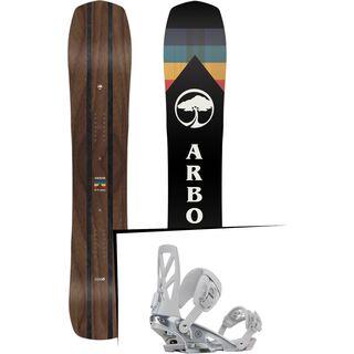 Set: Arbor A-Frame 2019 + Ride Capo silver