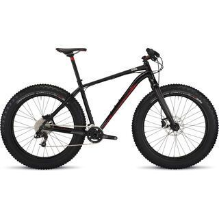 Specialized Fatboy Expert 2015, Gloss Black/Flo Red - Mountainbike