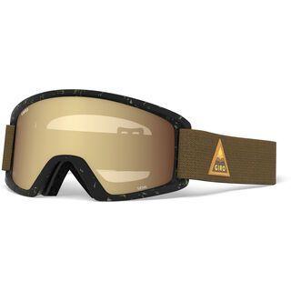 Giro Semi inkl. WS, rust arrow mtn/Lens: amber gold - Skibrille
