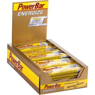 PowerBar Energize - Banana Punch (Box) - Energieriegel