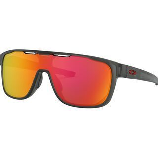 Oakley Crossrange Shield Prizm, matte grey smoke/Lens: prizm ruby - Sonnenbrille