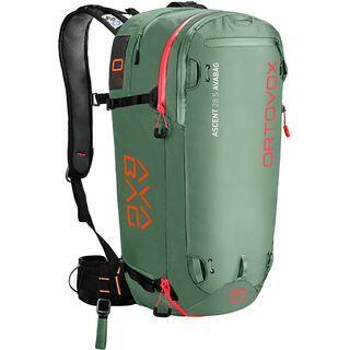 Ortovox Ascent 28 S Avabag Kit, ohne Kartusche green isar