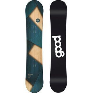 goodboards Apikal Camber 2019, blau - Snowboard
