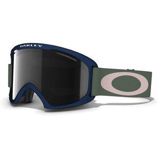 Oakley O2 XL, Medieval Blue/Dark Grey - Skibrille