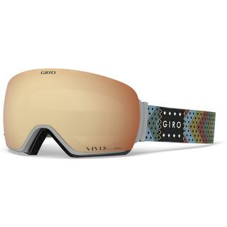 Giro Article inkl. WS, mo rockin/Lens: vivid copper - Skibrille