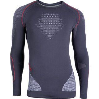 UYN Evolutyon Shirt, charcoal/white/red - Unterhemd