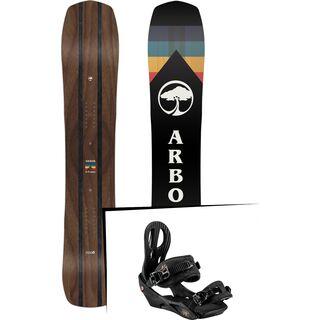 Set: Arbor A-Frame 2019 + Nitro Rythm black bronze