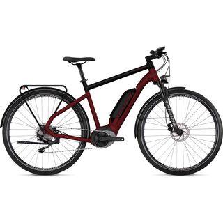 Ghost Hybride Square Trekking B4.8 AL 2019, red/black/silver - E-Bike