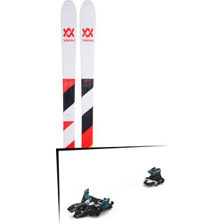 Set: Völkl VTA 88 2019 + Marker Alpinist 9 black/turquoise