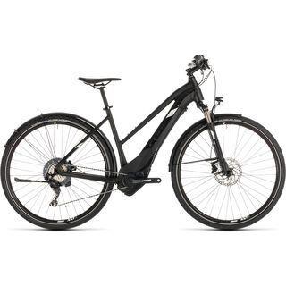 *** 2. Wahl *** Cube Cross Hybrid Race Allroad 500 Trapeze 2019, black´n´white - E-Bike | Größe 50 cm