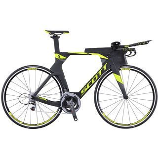 Scott Plasma Team Issue 2016, black/yellow - Triathlonrad