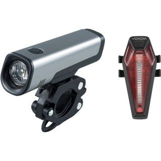 Voxom Fahrradbeleuchtung Set Lv11/Lh7