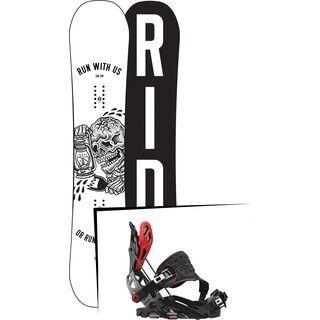 Set: Ride Burnout 2017 + Flow Fuse-GT Hybrid (1718348S)