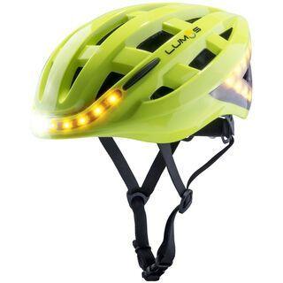 Lumos Kickstart Helmet with MIPS, electric lime - Fahrradhelm