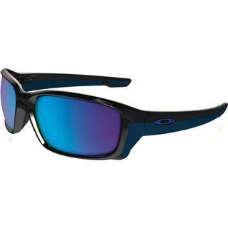 Oakley Straightlink, polished black/Lens: sapphire iridium - Sonnenbrille