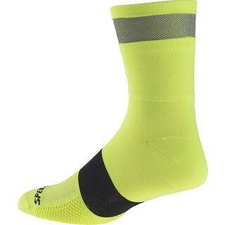 Specialized Reflect Tall Socks, neon yellow - Radsocken