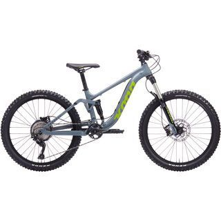 Kona Process 24 2020, gray/lime - Kinderfahrrad