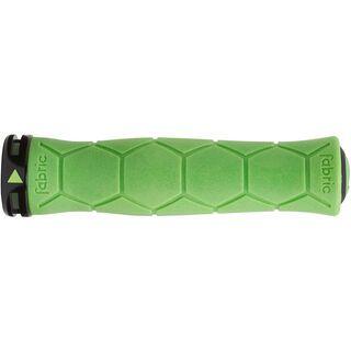 Fabric Semi Ergo Lock On Grips, green - Griffe