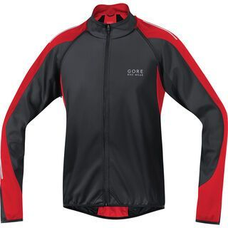 Gore Bike Wear Phantom 2.0 Windstopper SO Jacke, black red - Radjacke