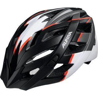 Alpina Panoma L.E., black-white-neon red - Fahrradhelm