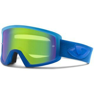 Giro Blok MTB inkl. Wechselscheibe, blue/Lens: loden green, clear - MX Brille
