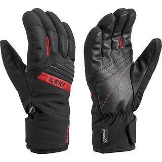 Leki Space GTX, schwarz-rot - Skihandschuhe