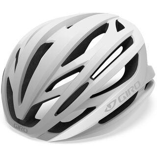 Giro Syntax, matte white/silver - Fahrradhelm
