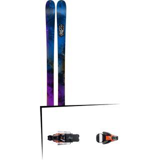K2 SKI Set: Sight 2016 + Salomon STH2 WTR 16