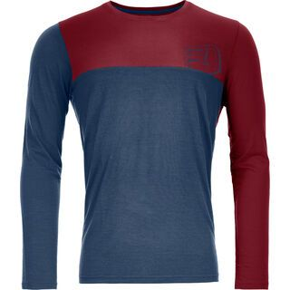 Ortovox 150 Cool Logo Long Sleeve M, night blue - Funktionsshirt
