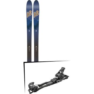 Set: K2 SKI Wayback 82 ECOre 2018 + Tyrolia Adrenalin 13 AT solid black