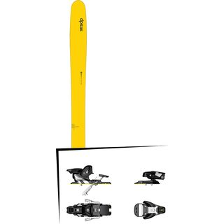 DPS Skis Set: Wailer 112 RP2 Hybrid 2016 + Salomon STH2 WTR 13