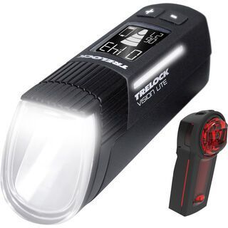 Trelock LS 660 I-Go Vision Lite / LS 740 Vector Signal - Beleuchtungsset