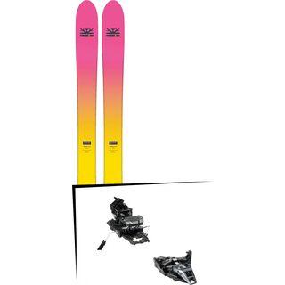 Set: DPS Skis Yvette 112 RP2 Foundation 2018 + Dynafit ST Rotation 10 black