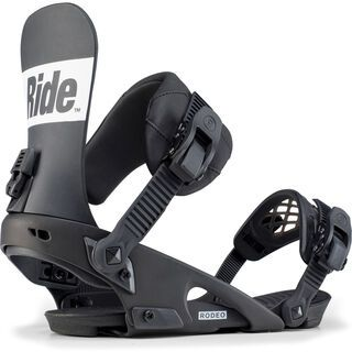 Ride Rodeo 2020, black - Snowboardbindung