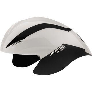 Alpina Elexxion TT, white black - Fahrradhelm