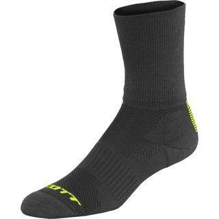 Scott Trail Long Sock, black/neon yellow - Radsocken