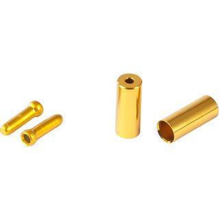 Cube RFR Universal Endkappen Pro - Set, gold - Zubehör